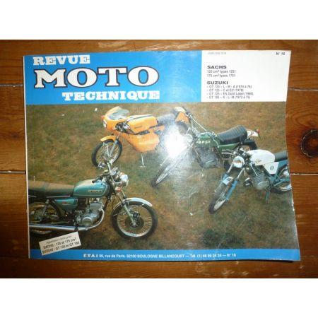 125 175 GT125 Revue Technique moto Sachs Suzuki