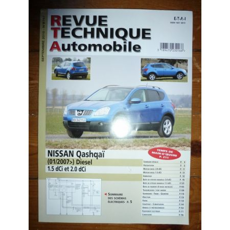 Qashqai 07- Revue Technique Nissan