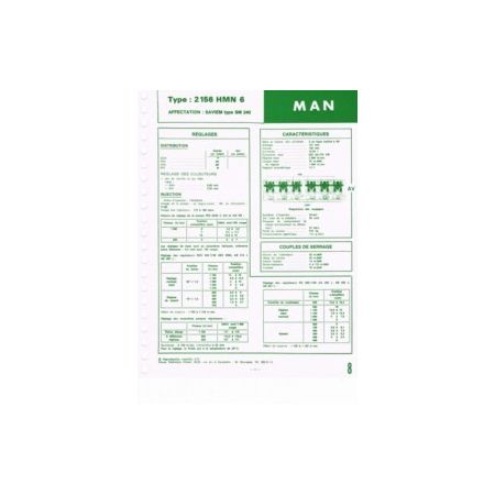 2158 HMN6 Fiche Technique Man