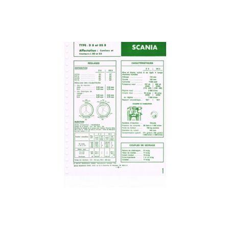 D8-DS8 Fiche Technique Scania