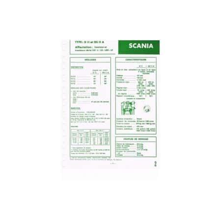 D11-DS11A Fiche Technique Scania