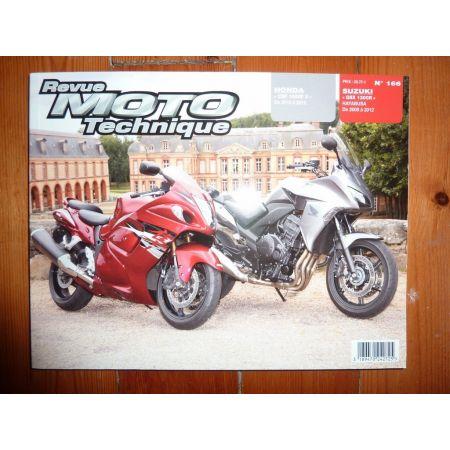 CBF1000F hayabusa Revue Technique moto Honda Suzuki