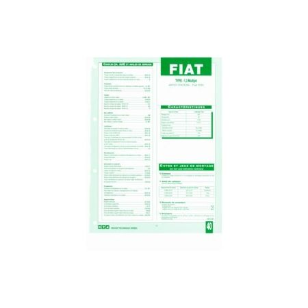 1.3 Multijet Fiche Technique Fiat