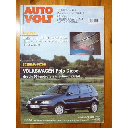 Polo Die 95- Revue Technique Electronic Auto Volt Volkswagen