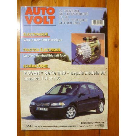 Série 200 96- Revue Technique Electronic Auto Volt Rover