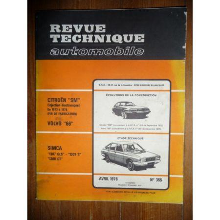 1307 1308 Revue Technique Simca Talbot