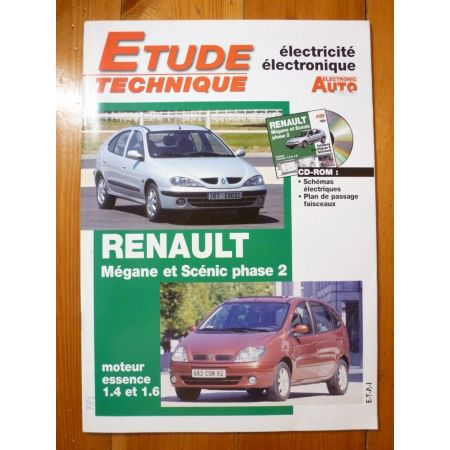 Megane Scenic II Revue Technique Electronic Auto Volt Renault