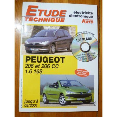 206 16S -01 Revue Technique Electronic Auto Volt Peugeot