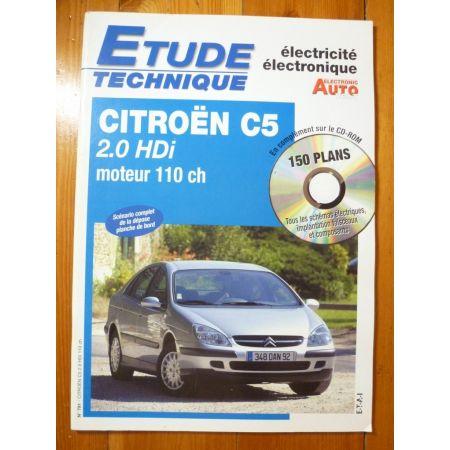 C5 2.0 HDi Revue Technique Electronic Auto Volt Citroen