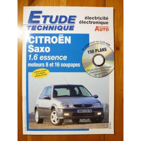 Saxo 1.6 Ess Revue Technique Electronic Auto Volt Citroen