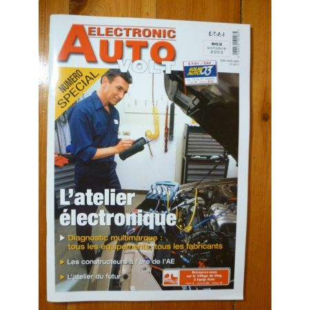 Magazine 0803S Revue electronic Auto Volt