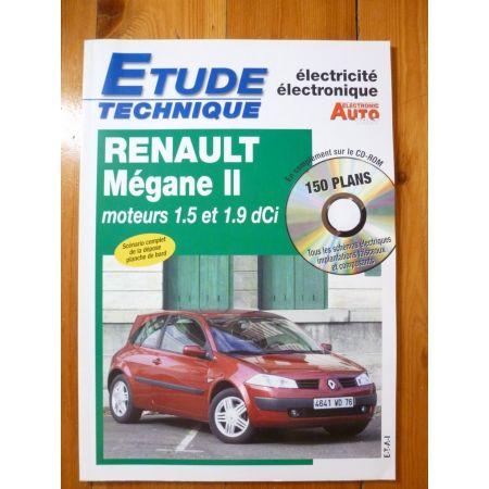 Megane II dCi Revue Technique Electronic Auto Volt Renault