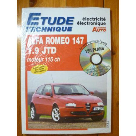 147 1.9 JTD Revue Technique Electronic Auto Volt Alfa Romeo