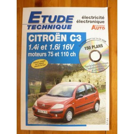 C3 Ess Revue Technique Electronic Auto Volt Citroen