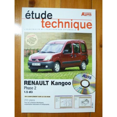 kangoo II dCi Revue Technique Electronic Auto Volt Renault