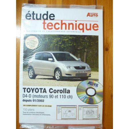 Corolla d4-d 02- Revue Technique Electronic Auto Volt Toyota