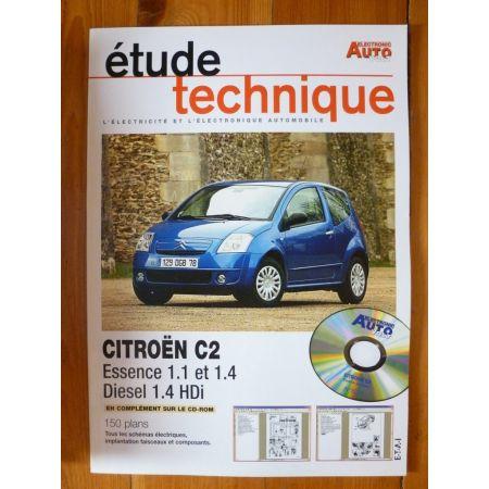 C2 Revue Technique Electronic Auto Volt Citroen