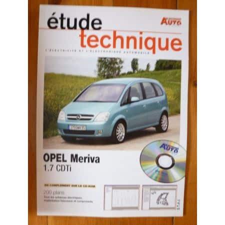 Meriva 1.7 CDTi Revue Technique Electronic Auto Volt Opel