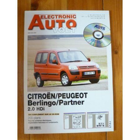 Berlingo Partner Revue Technique Electronic Auto Volt Citroen