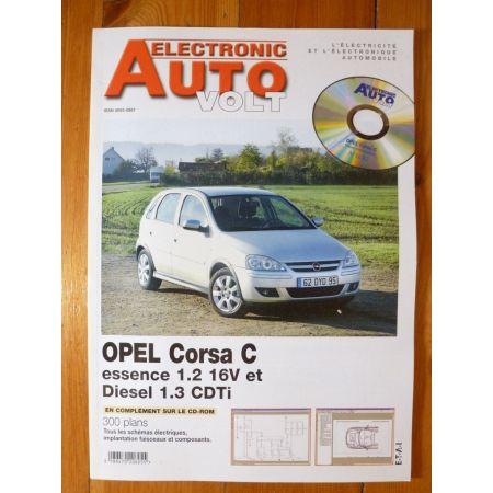 Corsa C Revue Technique Electronic Auto Volt Opel