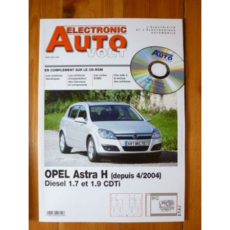 Astra H 04- Revue Technique Electronic Auto Volt Opel