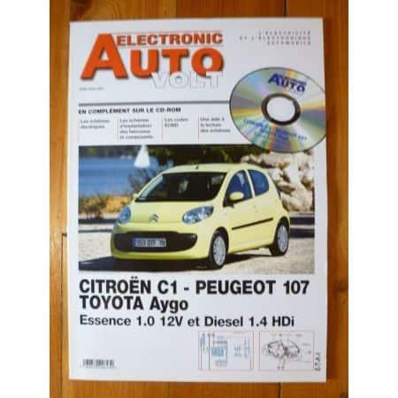 C1 107 Aygo Revue Technique Electronic Auto Volt Citroen