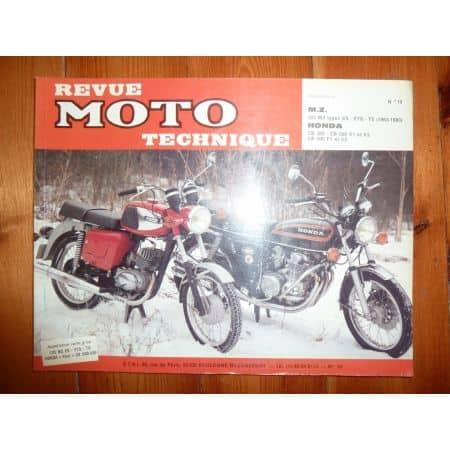 CB500 FOUR 125 ES ETS TS Revue Technique moto Honda Mz