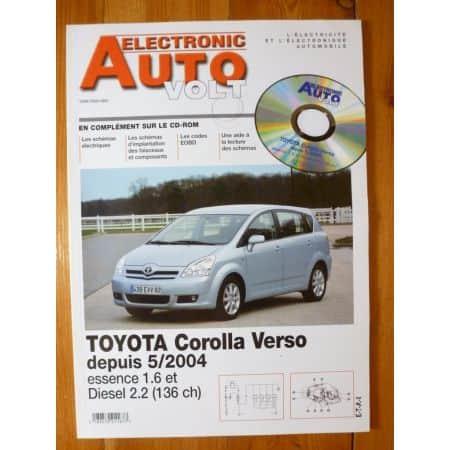 Corolla Verso 04- Revue Technique Electronic Auto Volt Toyota