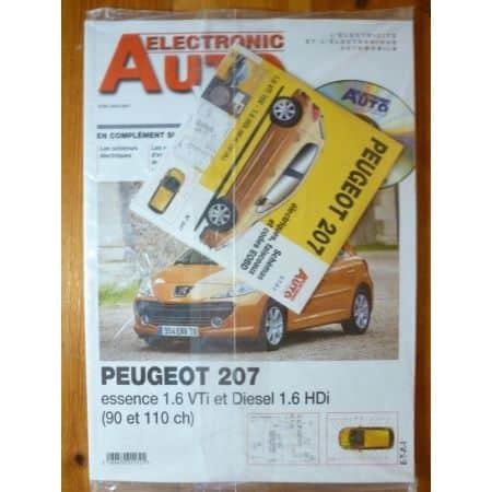 207 Revue Technique Electronic Auto Volt Peugeot