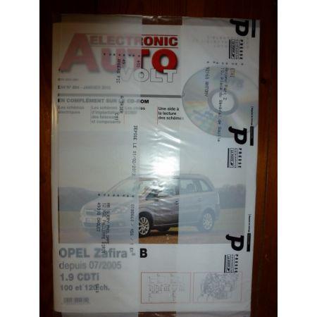 Zafira B 05- Revue Technique Electronic Auto Volt Opel