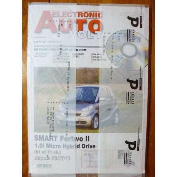 Fortwo II 10- Revue Technique Electronic Auto Volt Smart