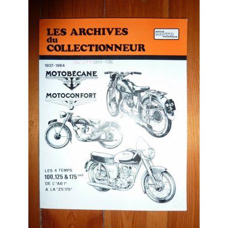 100 125 175 Revue Technique Les Archives Du Collectionneur Motobecane