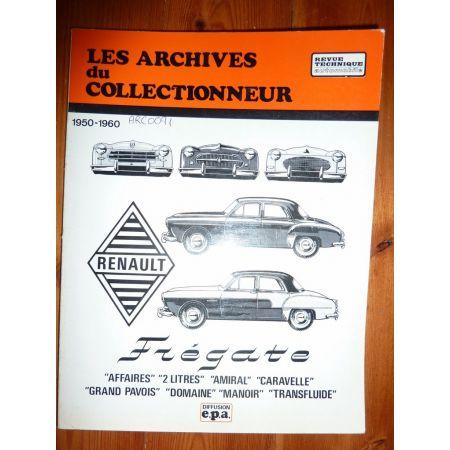 Fregate Revue Technique Les Archives Du Collectionneur Renault