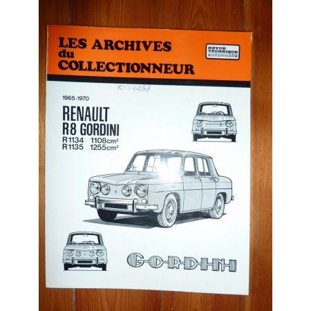 R8 Gord Revue Renault Technique Les Archives Du Collectionneur Renault