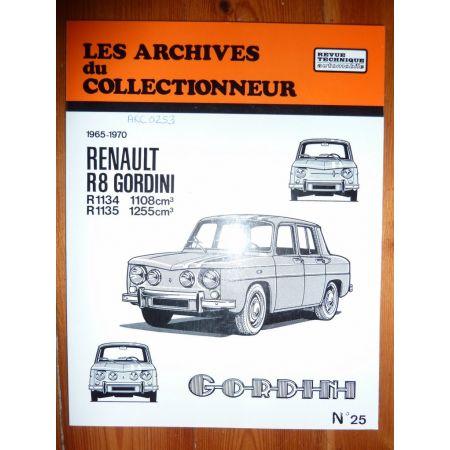 R8 Gord Revue Technique Les Archives Du Collectionneur Renault