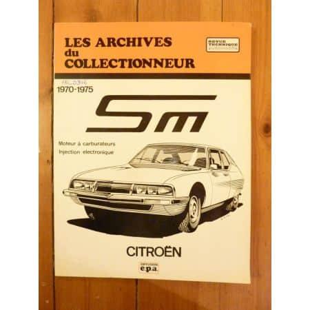 SM Revue Technique Les Archives Du Collectionneur Citroen