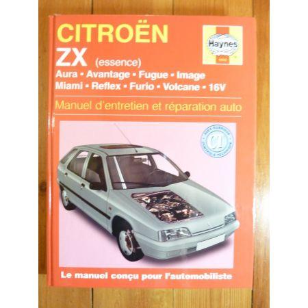 ZX Ess Revue Technique Haynes Citroen