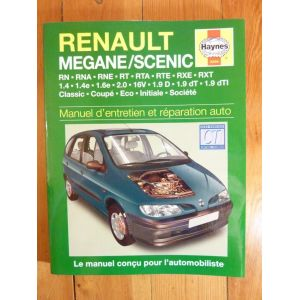 Megane Scenic l Revue Technique Haynes Renault