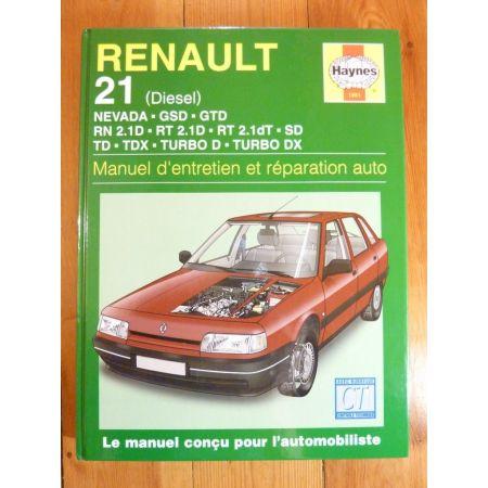 R21 Die Revue Technique Haynes Renault