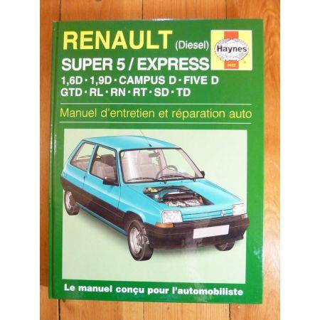 S5 Express Diesel Revue Technique Haynes Renault
