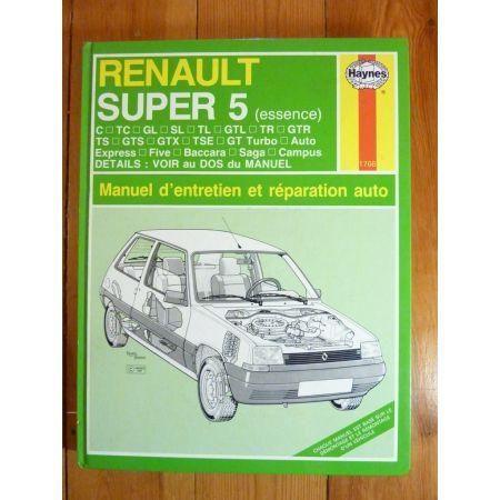 SuperCinq Ess. - Revue Technique Haynes Renault