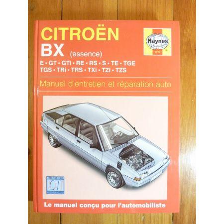 BX Ess Revue Technique Haynes Citroën