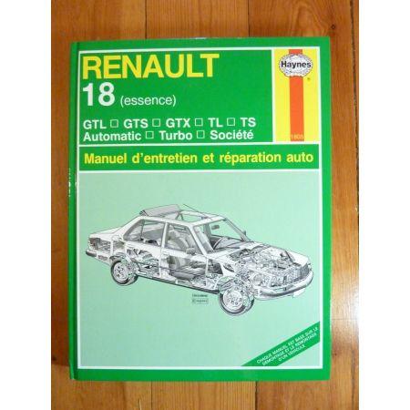 R18 Ess. - Revue Technique Haynes Renault