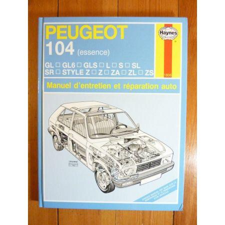 104 Ess Revue Technique Haynes Peugeot