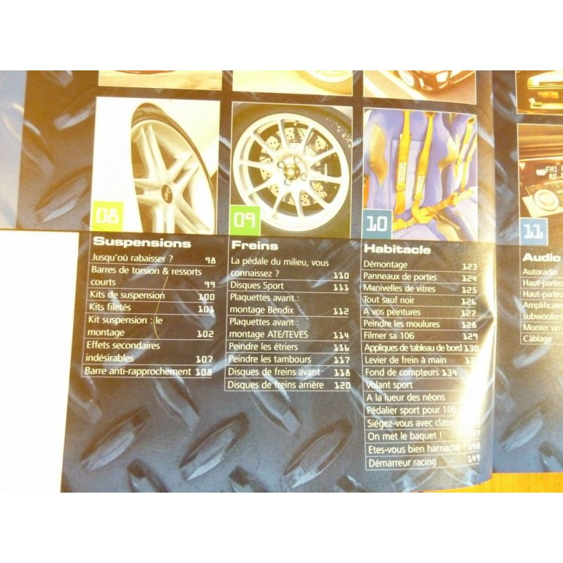 peugeot 106 special tuning guide de personnalisation de la. Black Bedroom Furniture Sets. Home Design Ideas