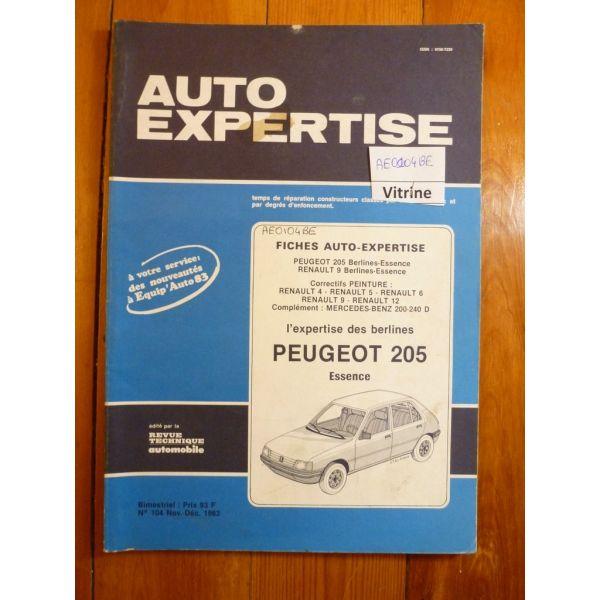 205 Ess Revue Auto Expertise Peugeot