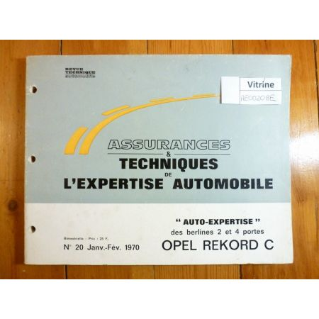 Rekord C Revue Auto Expertise Opel