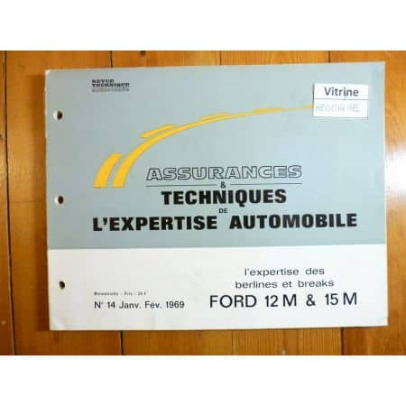 12M 15M Revue Auto Expertise Ford