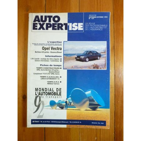 Vectra Revue Auto Expertise Opel