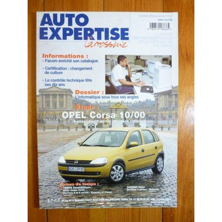 Corsa 00- Revue Auto Expertise Opel